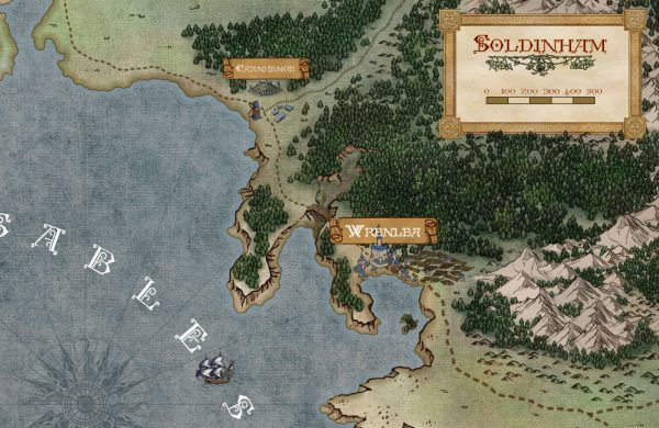 Sample Map, Canvas Textures
