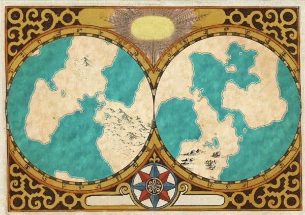 2-globe overlay example