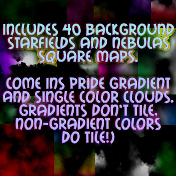 Rainbow Storms come in pride gay lesbian bi pan aro ace nb genderqueer genderfluid nebula starfield backgrounds science fiction and magic special effects all pride flags demo trans lesbian gay pan nb non binary enby gay genderfluid genderqueer ace aro