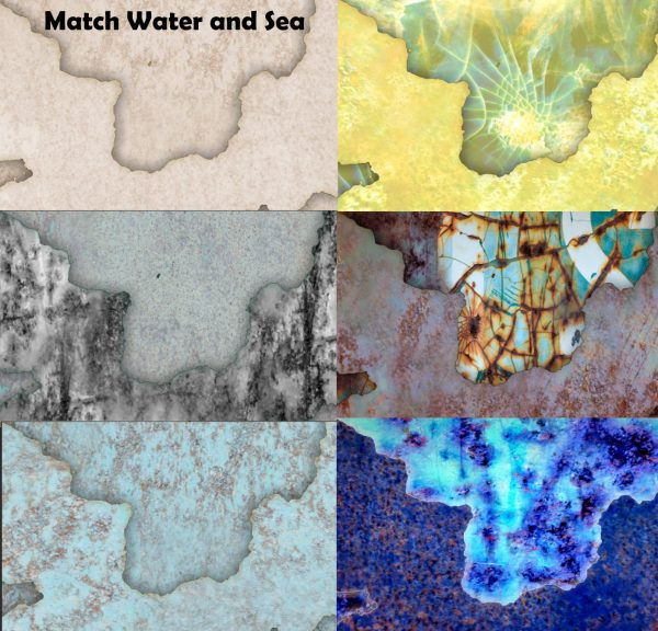 128 Rusty Bin Seamless Textures for Cartography and Mapping textures for Wonderdraft